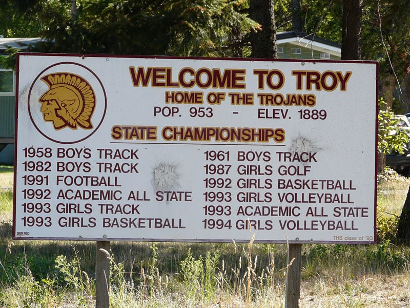Troy Montana Team Signs