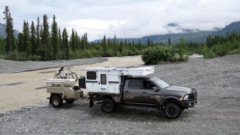 Alaska River Road