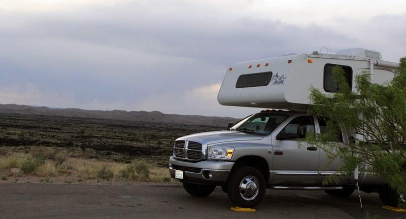 BLM Campsite West Of Carrizozo NM