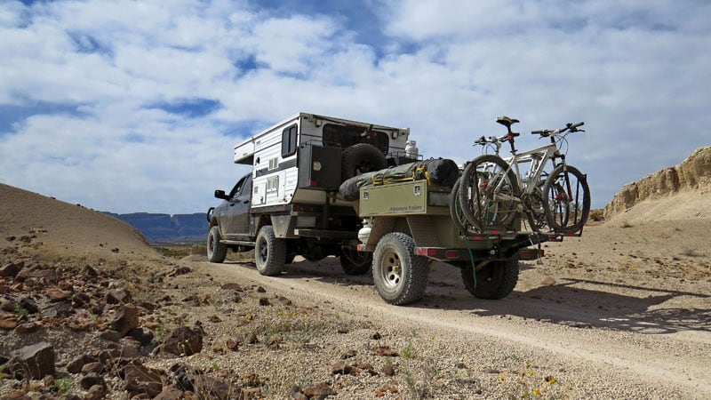 Big Bend National Park Adventure Trailer