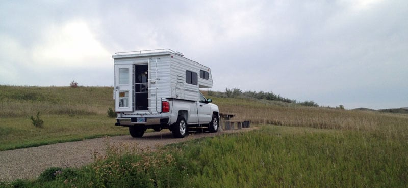Buffalo Gap Campground In The Little Missouri National Grassland Pastime Camper