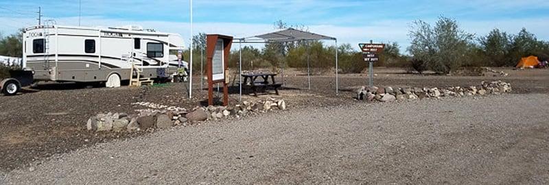 Camp Host At Quartzsite