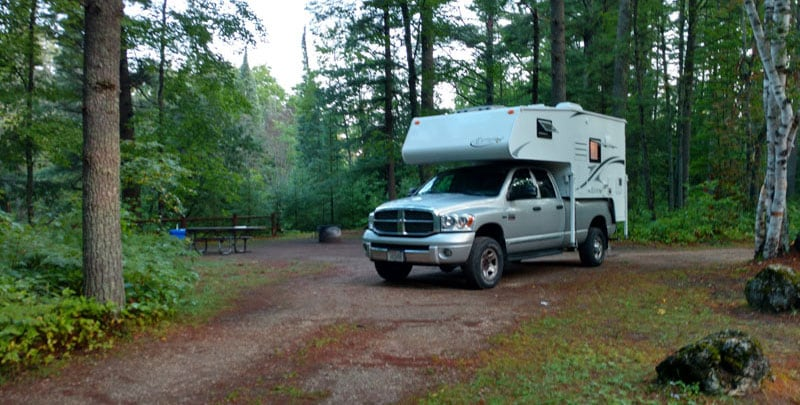 Carp River Campground Hiawatha National Forest Claycomb