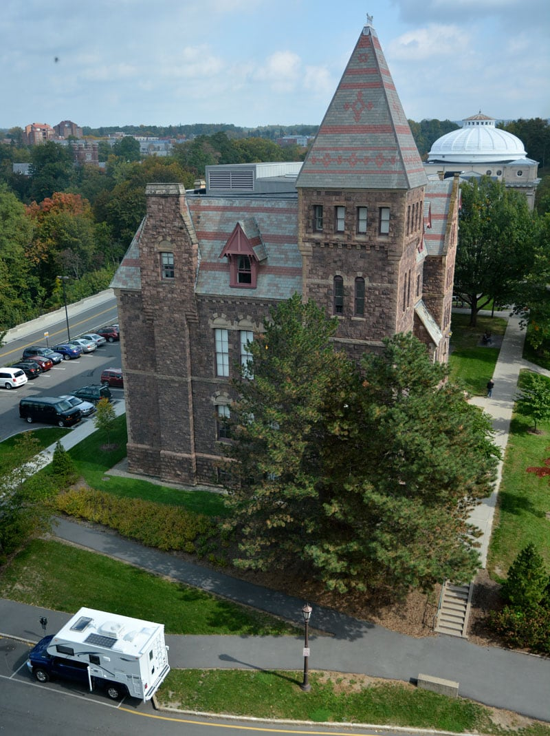 Cornell University Campus Parking Camper
