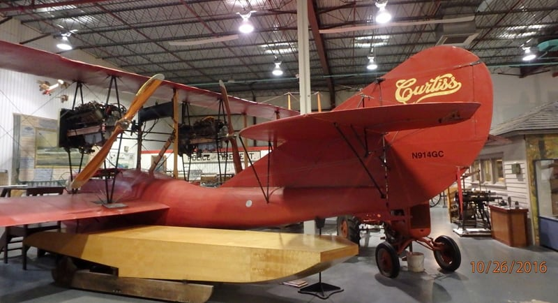 Curtiss Plane Museum New York
