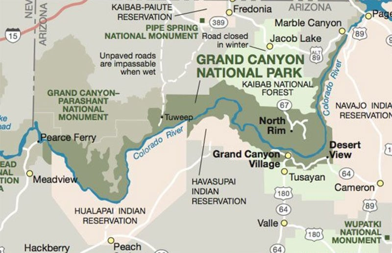 Have You Truck Camped At Grand Canyon National Park Truck