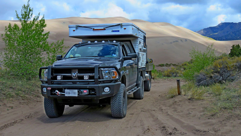 Great Sand Dunes 4WD Road
