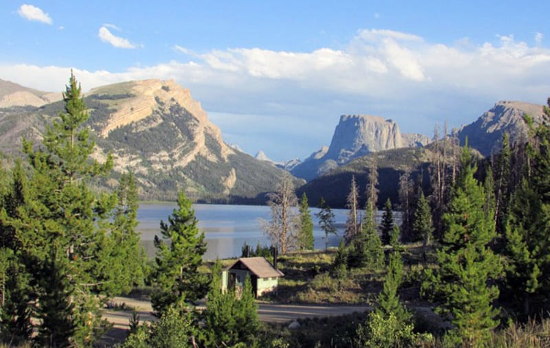 Green River Lakes Campground Wind River Range, Out Of Pinedale, Wyoming Westbrook