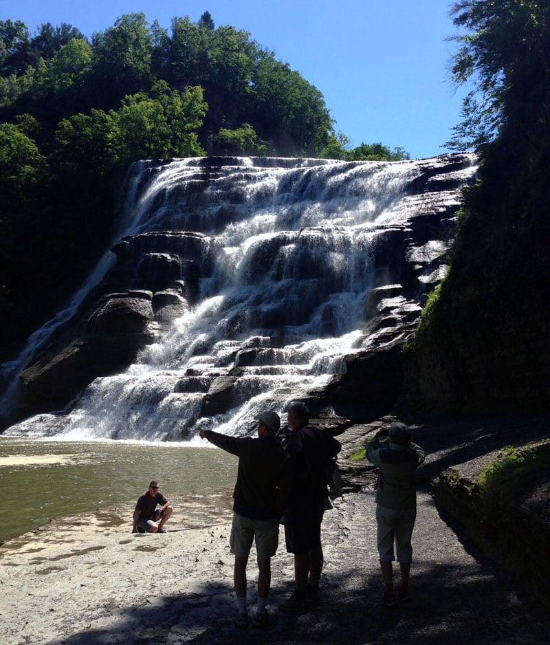 Ithaca Falls Hike
