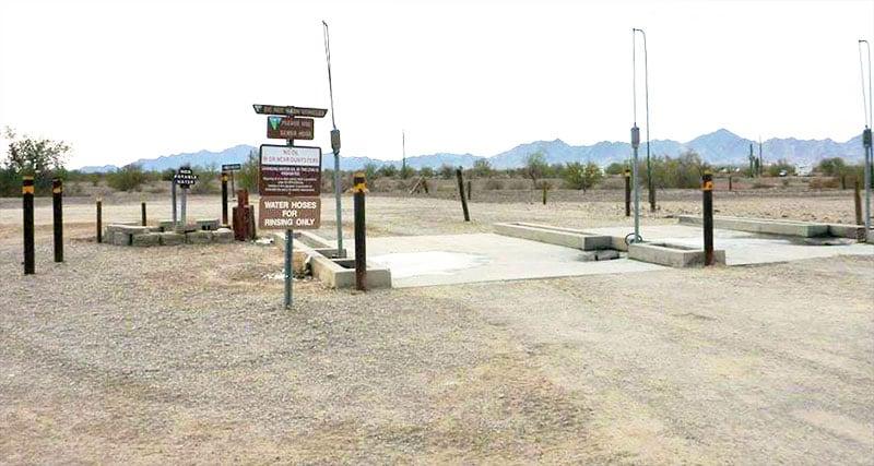 La Posa South Dump Station