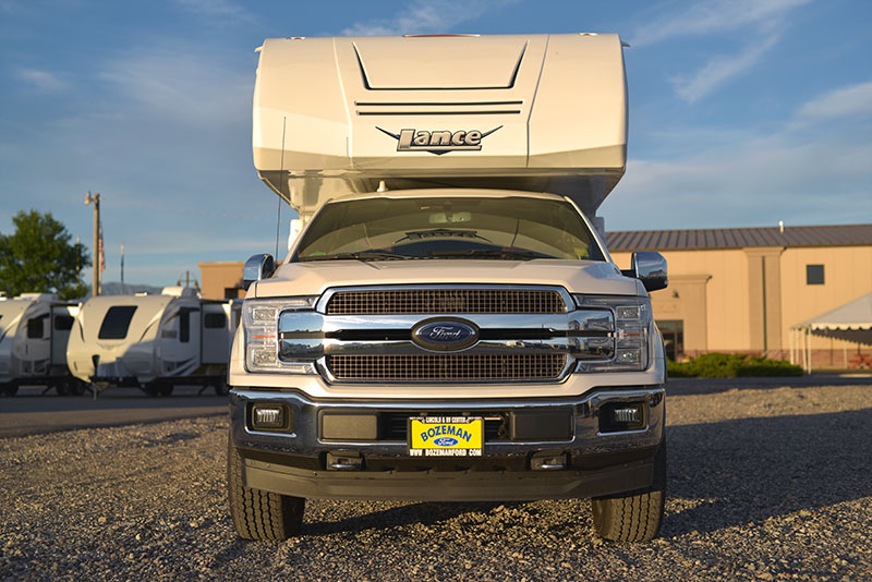 Lance 650 nose and Ford F150 grille