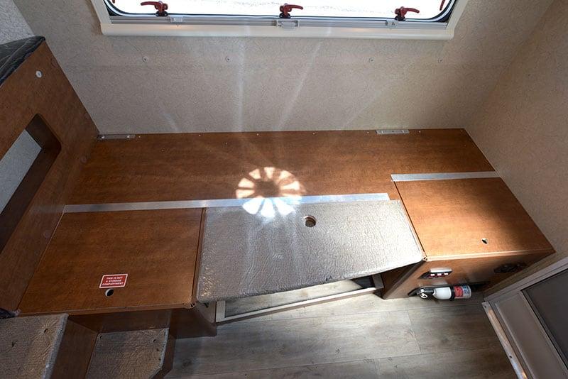 Lance 650 Dinette Bed Platform