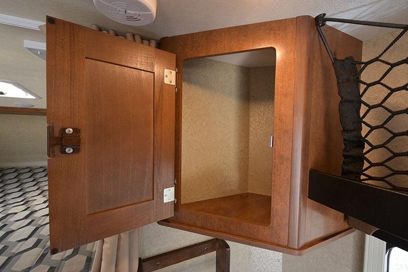 Lance 650 Dinette Upper Cabinetry