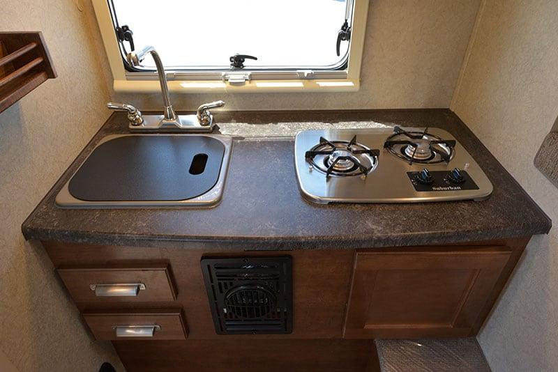 Lance 650 Kitchen Countertop and Lower Cabinetry