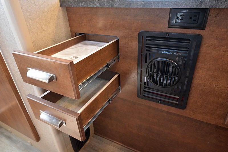 Lance 650 Kitchen Drawers