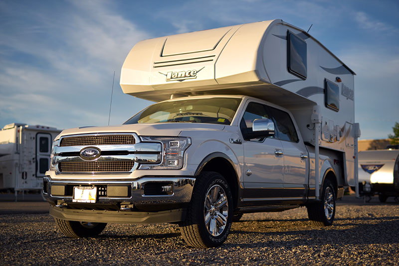 Lance 650 and Ford F150
