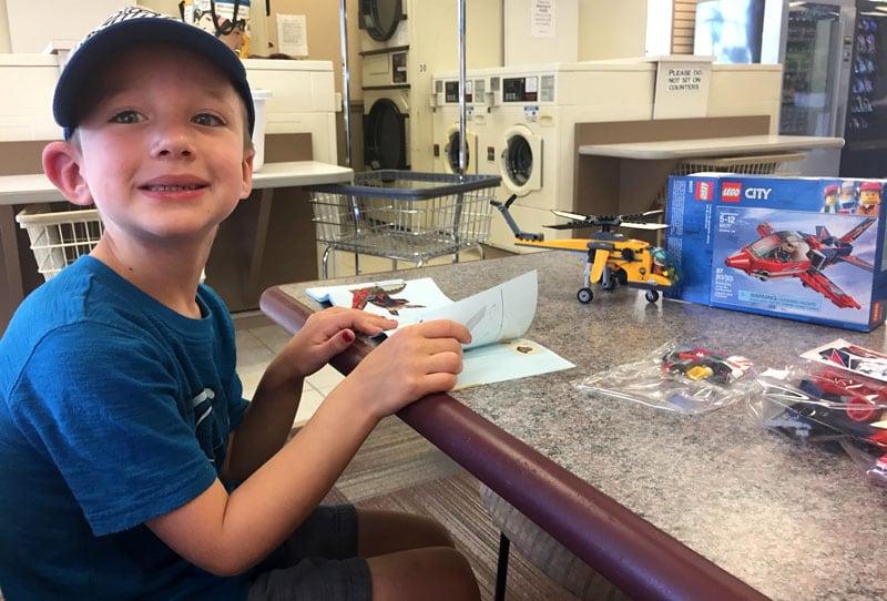 Legos At Laundry Mat