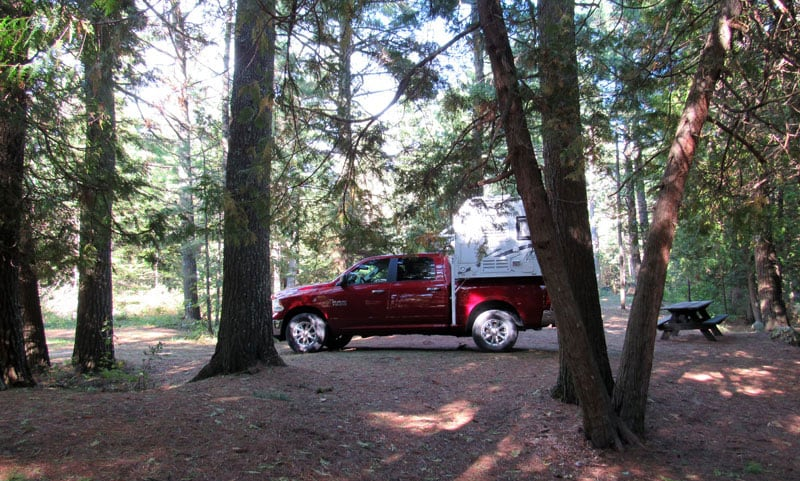 Michigan Big Knob State Forest Campground