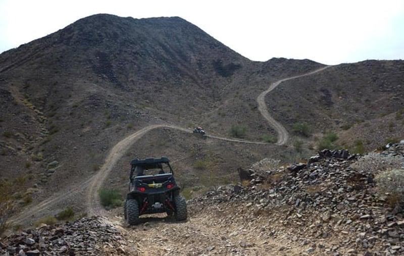 ORV Trail Quartzsite