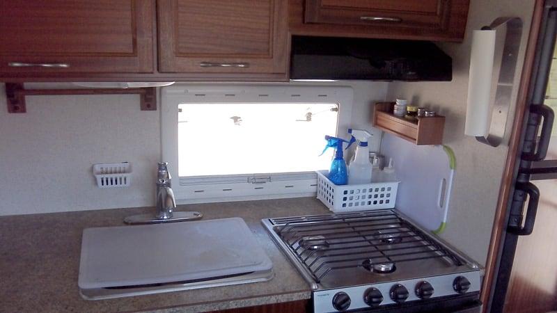 Organizing A Northern Lite Camper Kitchen
