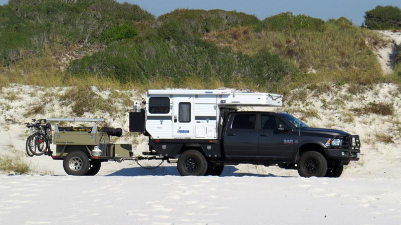 Flatbed Camper in Pensecola FL