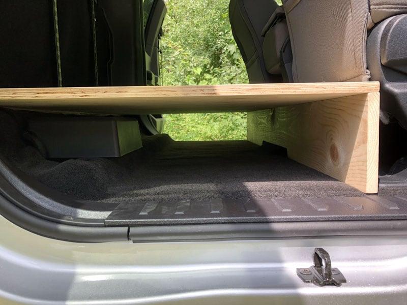 Truck Storage Floor Detail