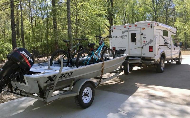 Xpress Boat Truck Camper