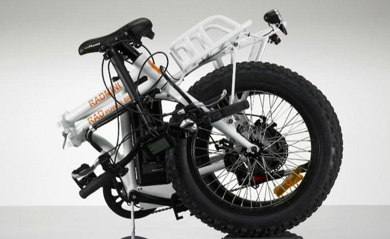 Folded RAD Power Bike