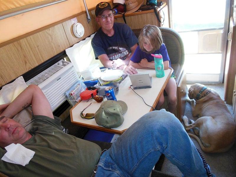 90 Pound Mastidor Truck Camping