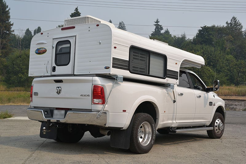 Alaskan Campers Camper Pickup Rear Three Quarters