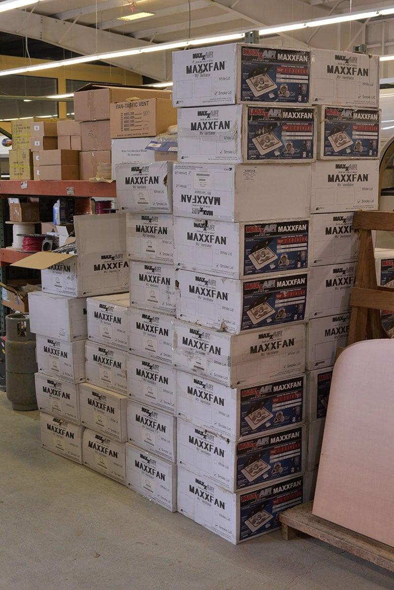 Alaskan Campers Inventory Maxx Air Fans