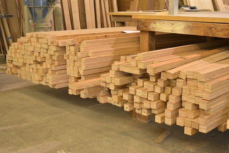 Alaskan Campers Winlock Inventory Cut Wood
