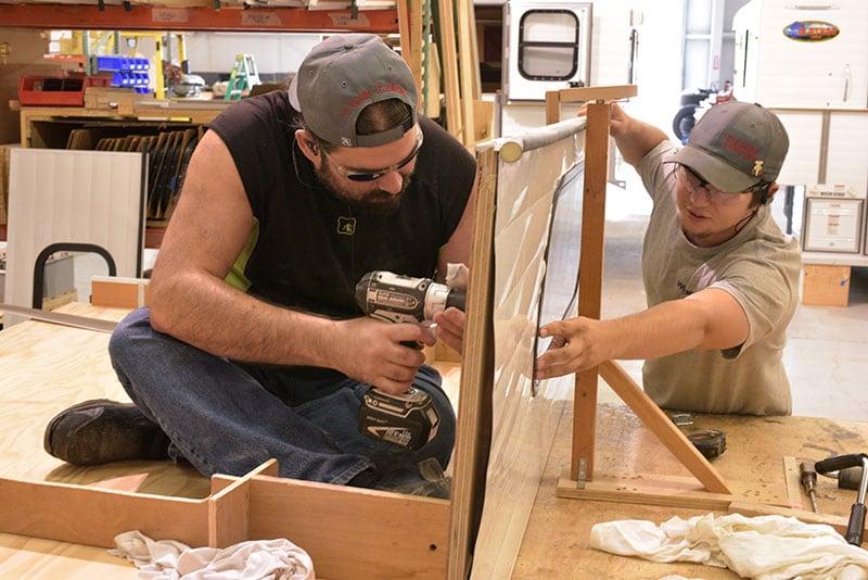 Alaskan Campers Workers New Hire