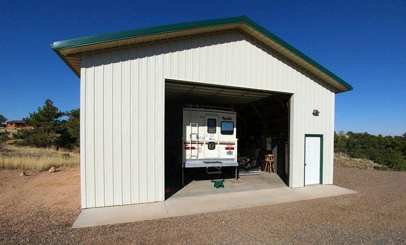 Alpenlite Camper In Garage