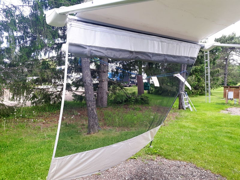 Awning Extension Screen
