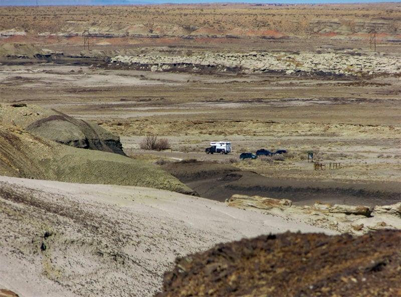 Bisti Wilderness New Mexico