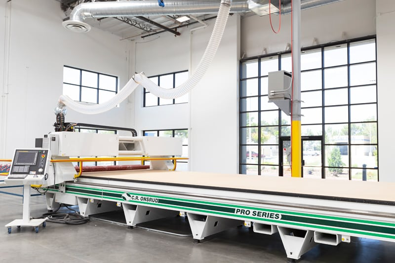 CNC At Lance Camper New Factory