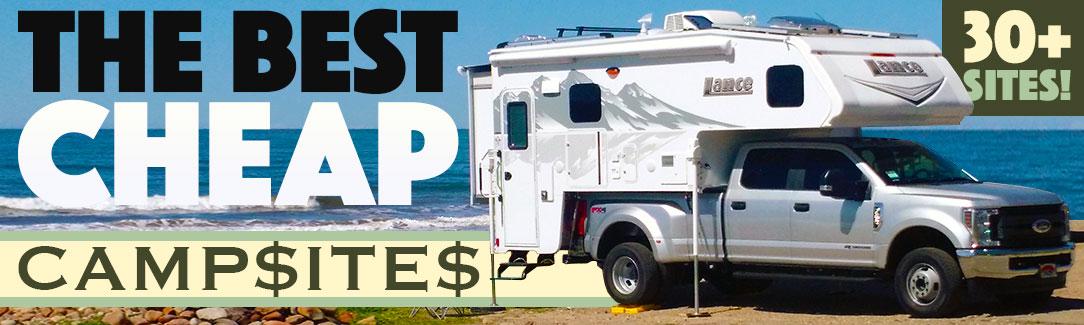 Cheap Campsites