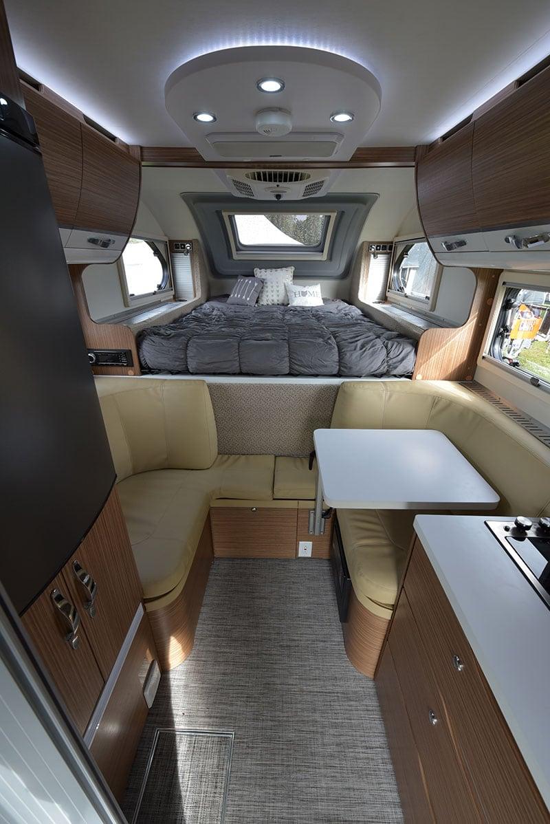 Cirrus 670 Camper Interior