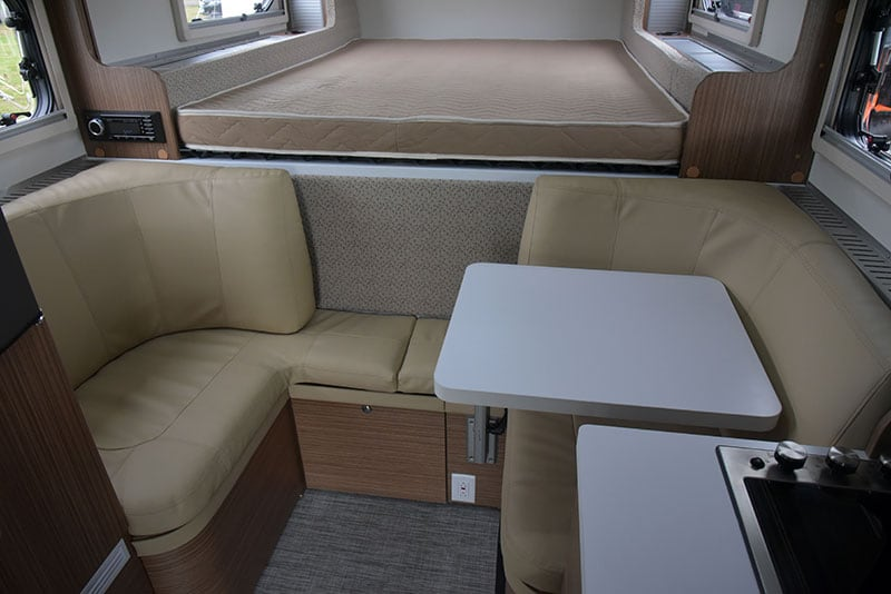 Cirrus 670 Dinette Lagun table to the side