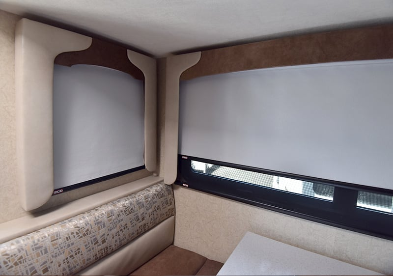 Day Night Shades Cabover Dinette