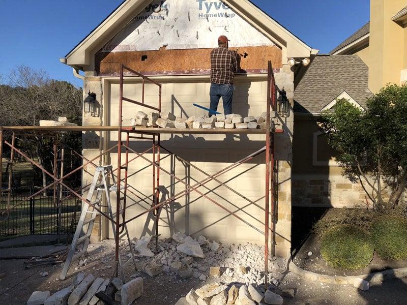 Garage Being Built OShaughnessy
