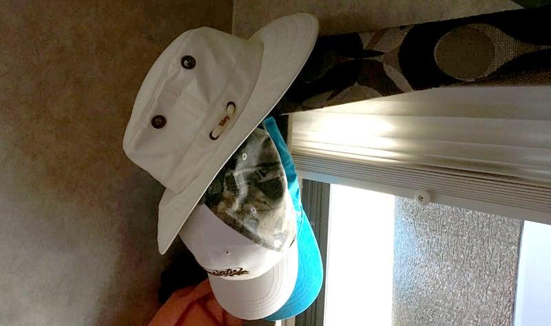 Hat Organization In Camper