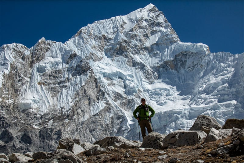 In Front Of Nuptse Nepal