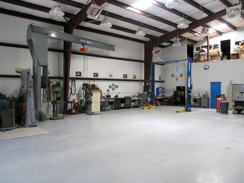 Inside RV Garage lighting