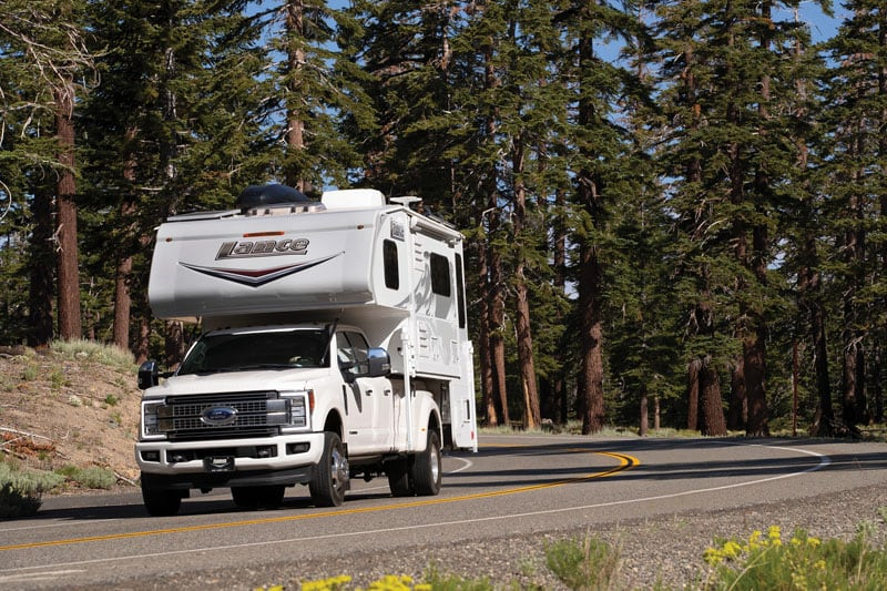 2019 Lance Camper with Grey Nose Highway