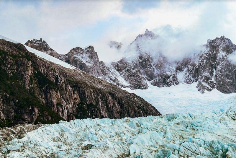 Pia Glacier Chile