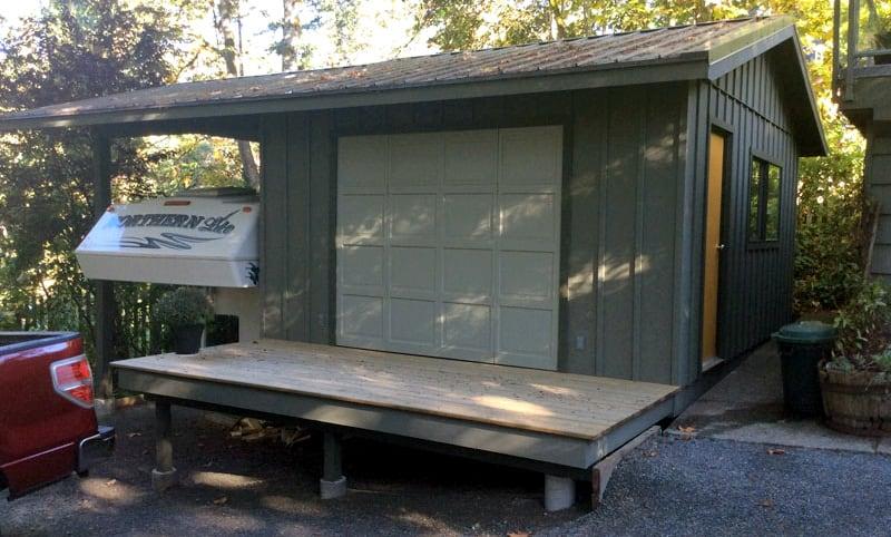 RV Car Port And Garage