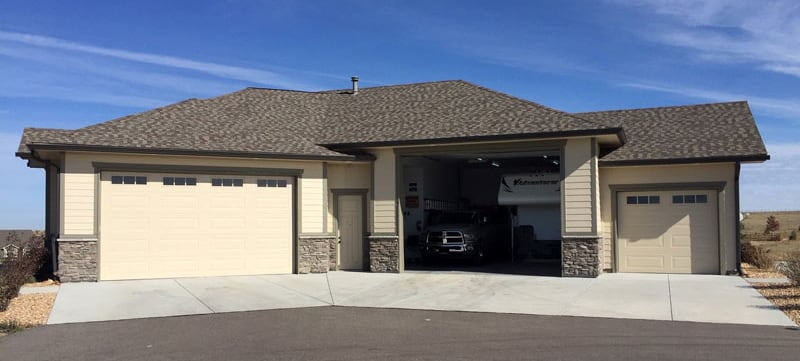 RV Garage Attached To House