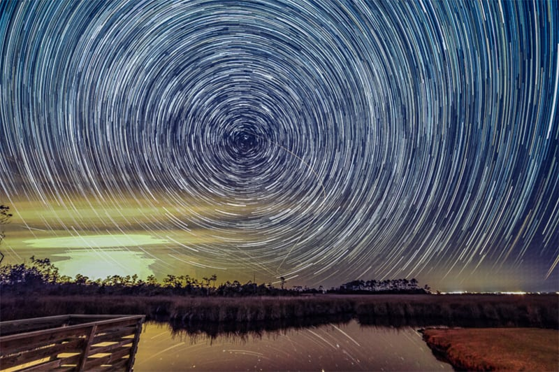 Star Trails NC Outer Banks